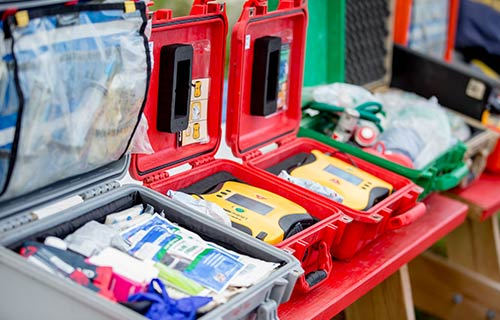 AED & Trauma Kits